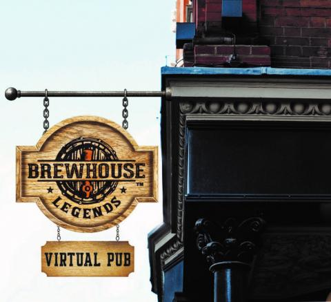 BHL virtual pub sign